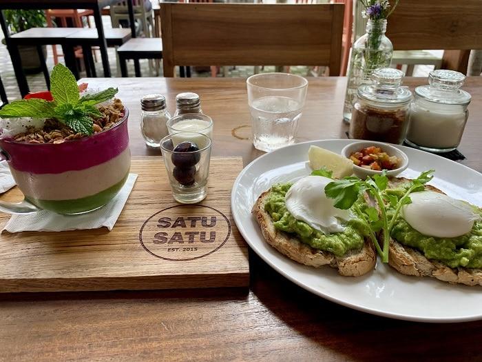 petit-déjeuner à Bali